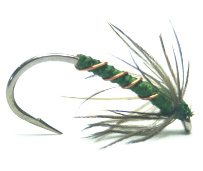 softhackles.com – Soft Hackle Wet Fly – Copper and Blae Spider