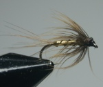 MyFlies - Steamed Hackle Whickhams Fancy before