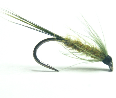 softhackles.com – Soft Hackle Wet Fly – Awesome Olive