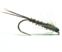 softhackles.com – Soft Hackle Wet Fly – Olive Pheasant Tail Nymph