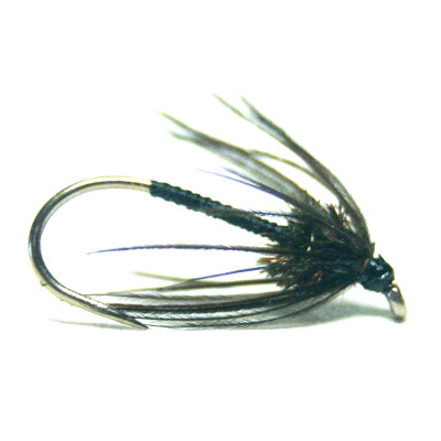 softhackles.com – Soft Hackle Wet Fly – Black Magic