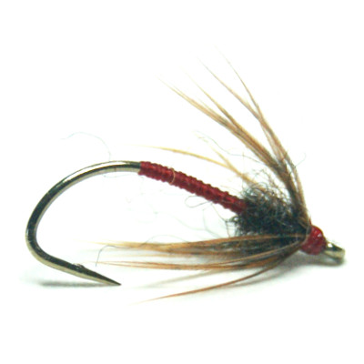 softhackles.com – Soft Hackle Wet Fly – February Red