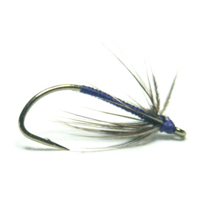 softhackles.com – Soft Hackle Wet Fly – Snipe and Purple