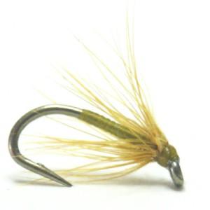 softhackles.com – Soft Hackle Wet Fly - Brown Olive Spider