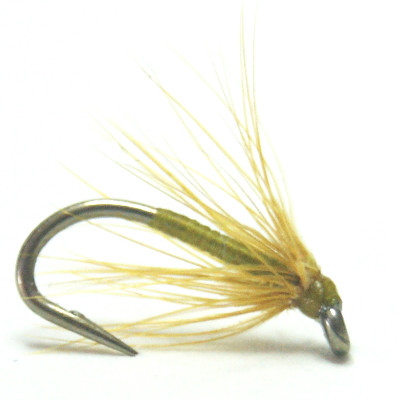 softhackles.com – Soft Hackle Wet Fly - Brown Olive Spider