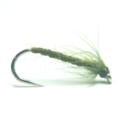 softhackles.com – Olive Spider