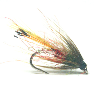 softhackles.blog - palmered hackle wet fly - Bo Diddly