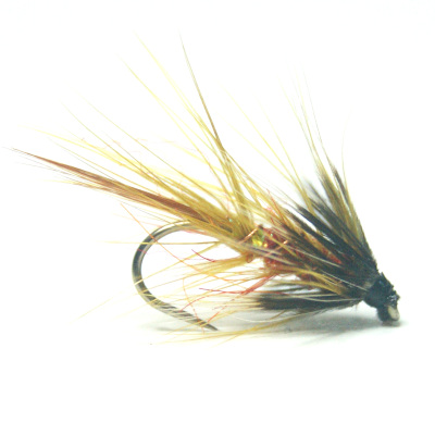 softhackles.blog - palmered hackle wet fly - Mrs Malone