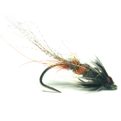 softhackles.blog - soft hackle wet fly - Grey Monkey